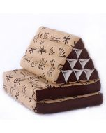 Triangle Pillow Two Fold Batik