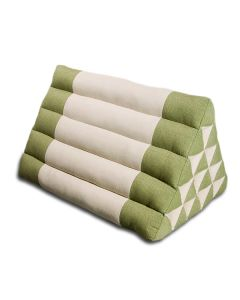 King Triangle Pillow Cotton Linen