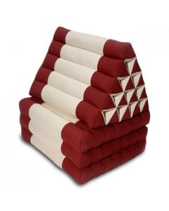 King Triangle Pillow Three Fold Cotton Linen