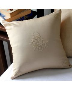 Embroidered Accent Pillow Cover