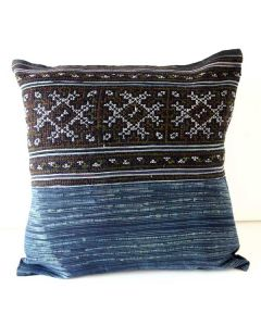 Throw Pillow Hilltribe Fabric Cover