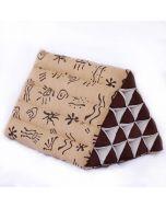 King Triangle Pillow Batik
