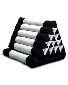 King Triangle Pillow One Fold Cotton Linen
