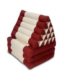 King Triangle Pillow Three Fold Cotton Linen