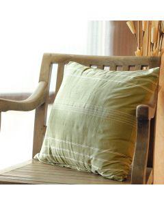 Tartan Accent Pillow Cover
