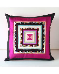 Throw Pillow Silk Cover