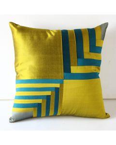 Throw Pillow Silk Cover